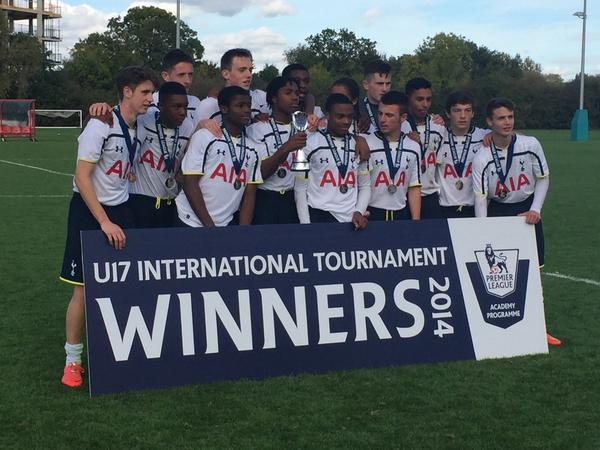 U17 International Tournament Winners